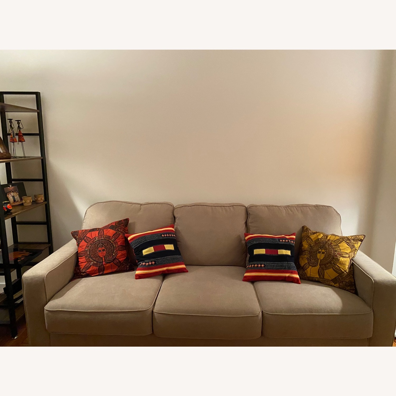 Ashley Furniture 3 Seater Queen Sleeper Sofa - image-1