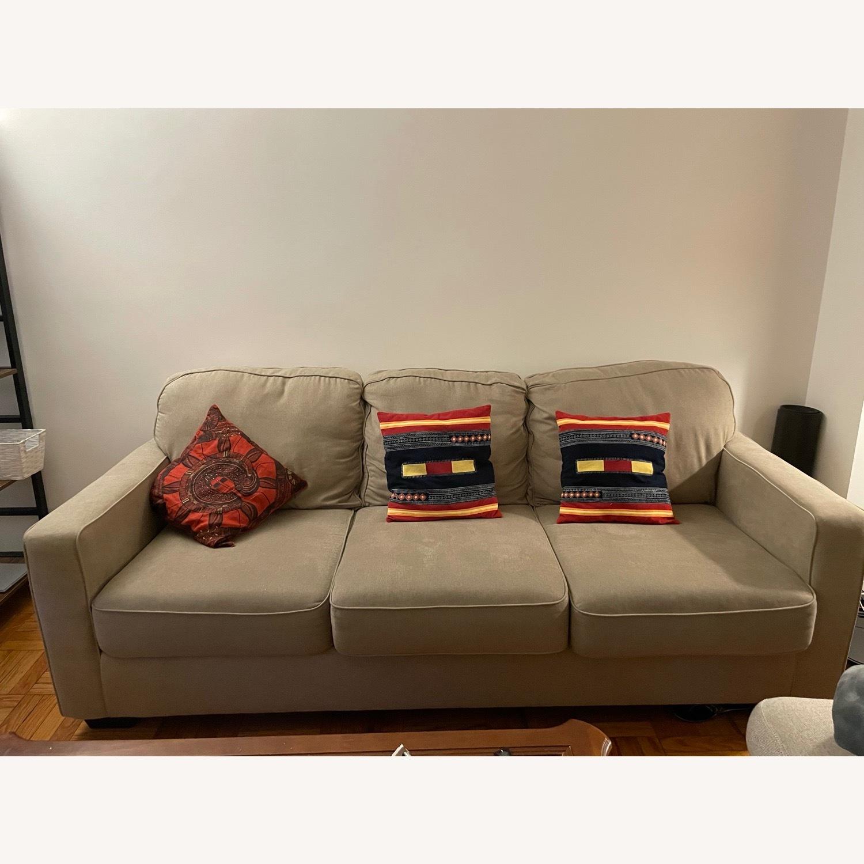 Ashley Furniture 3 Seater Queen Sleeper Sofa - image-5