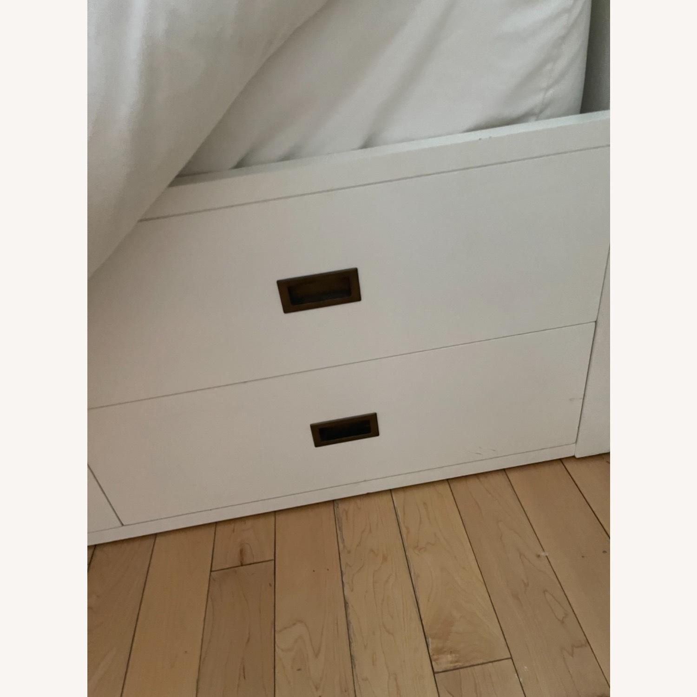 Restoration Hardware storage Bed (Full) - image-3