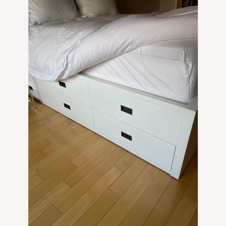 Restoration Hardware storage Bed (Full) - image-2