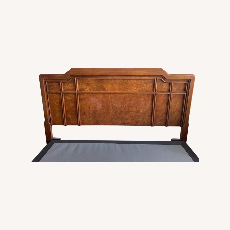 Solid Wood Headboard (Queen Size) - image-0