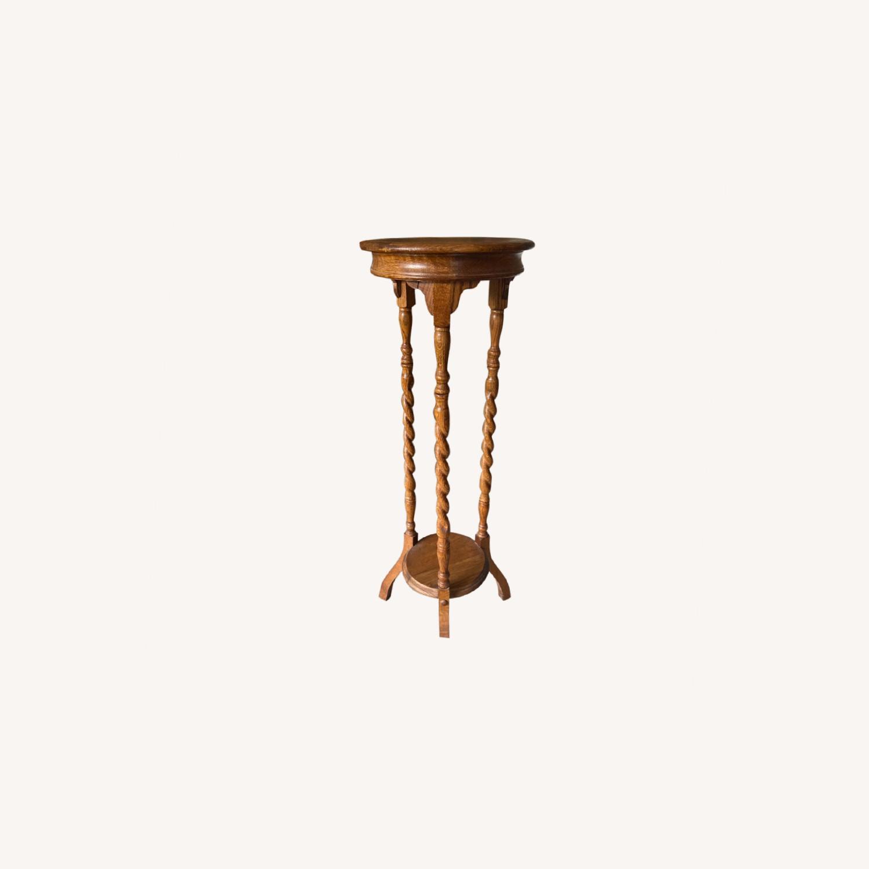 Centurion Natural Wood Decor Stand - image-0