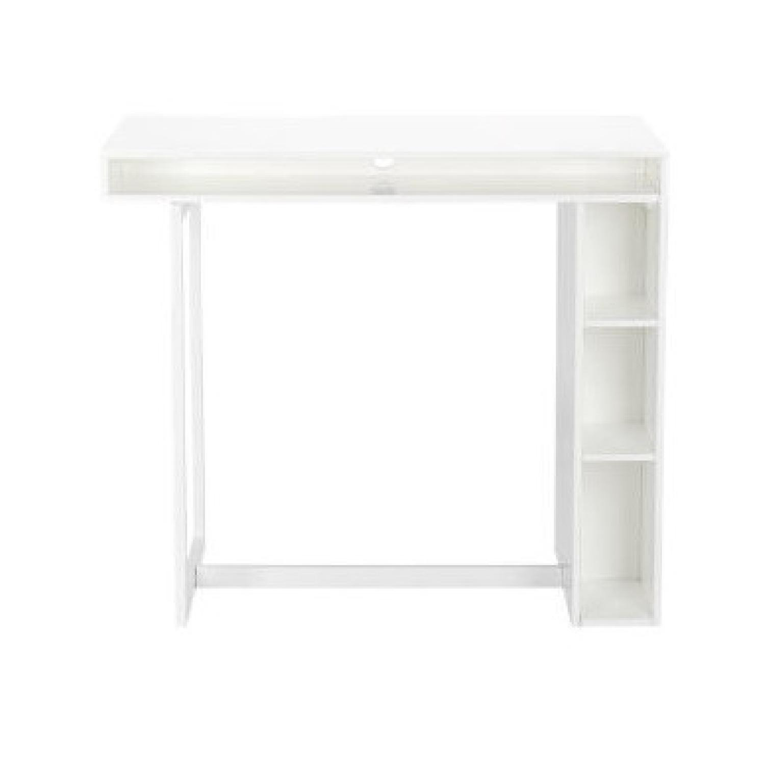 CB2 Public High Dining Table / Standing Desk - image-1
