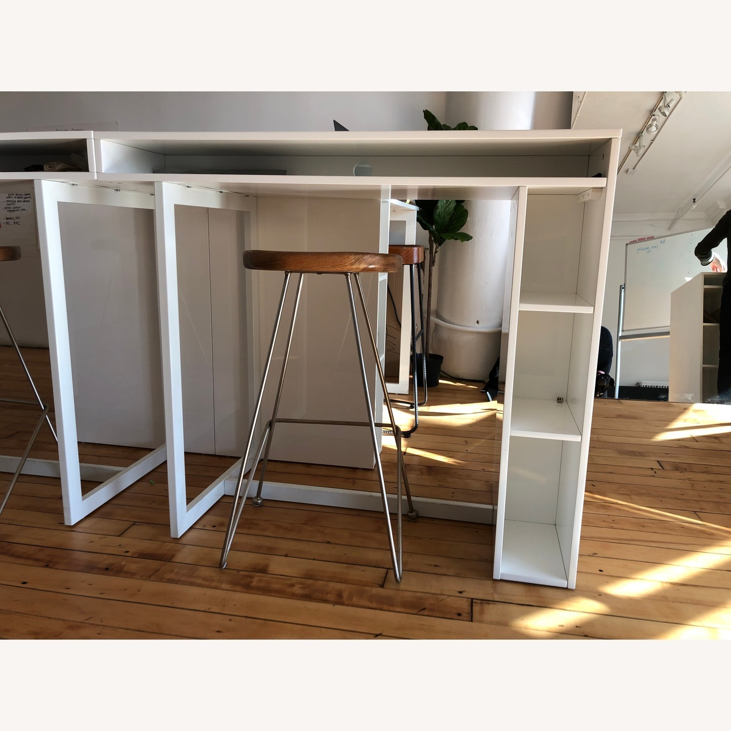 CB2 Public High Dining Table / Standing Desk - image-3