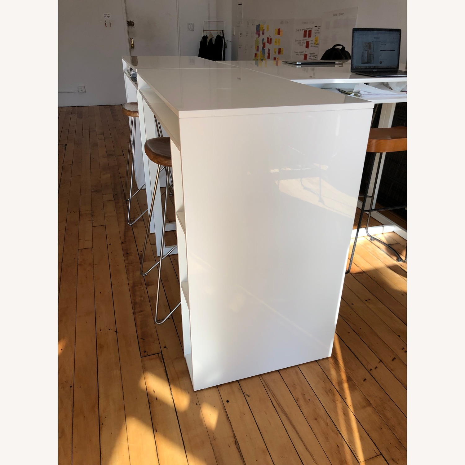 CB2 Public High Dining Table / Standing Desk - image-4