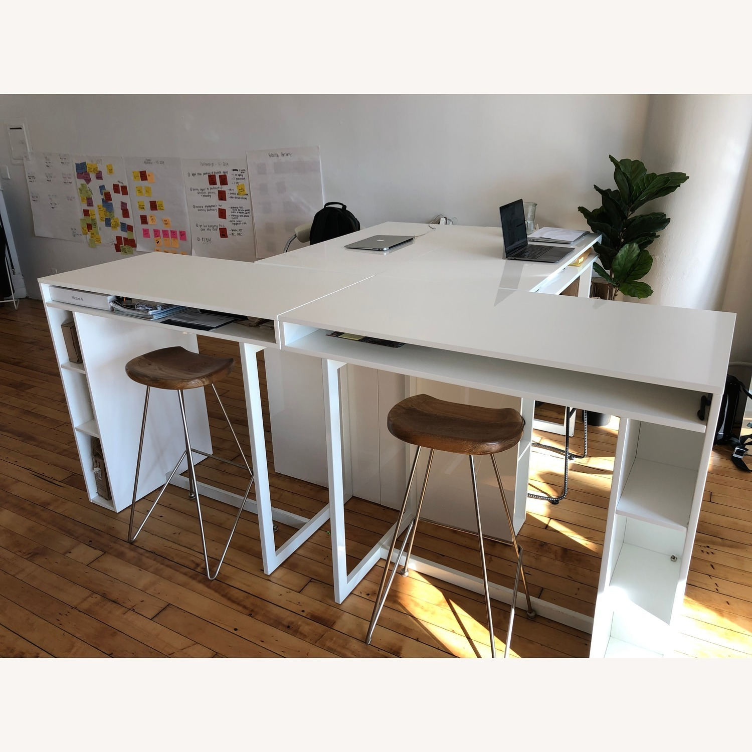 CB2 Public High Dining Table / Standing Desk - image-2