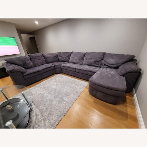 Used Jennifer Convertibles 3 Peice Sectional Sofa for sale on AptDeco