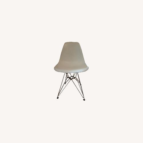 Used Eames Molded Fiberglass Chairs, set of 4 for sale on AptDeco