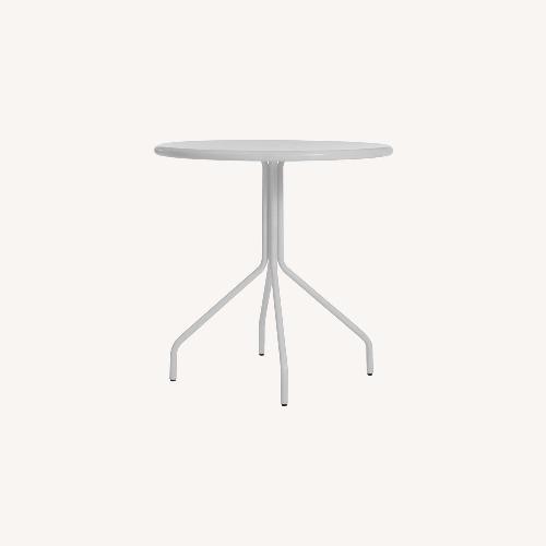 Used Blu Dot White Cafe Table for sale on AptDeco