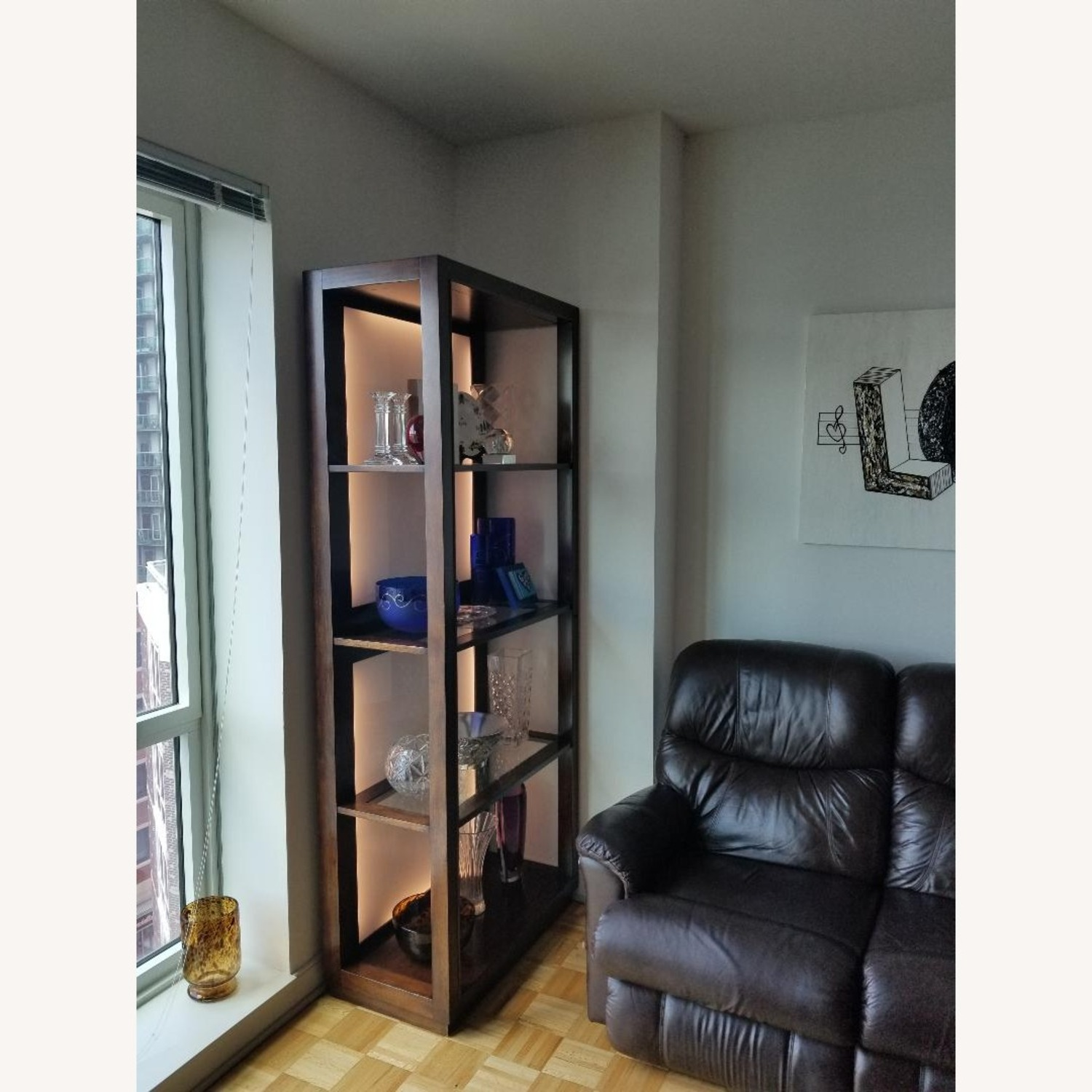 Lighted Curio Cabinet - image-2