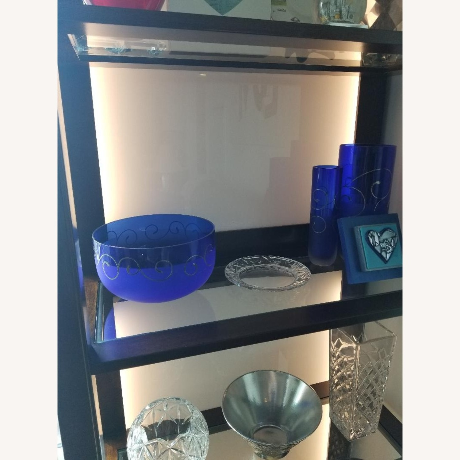 Lighted Curio Cabinet - image-3