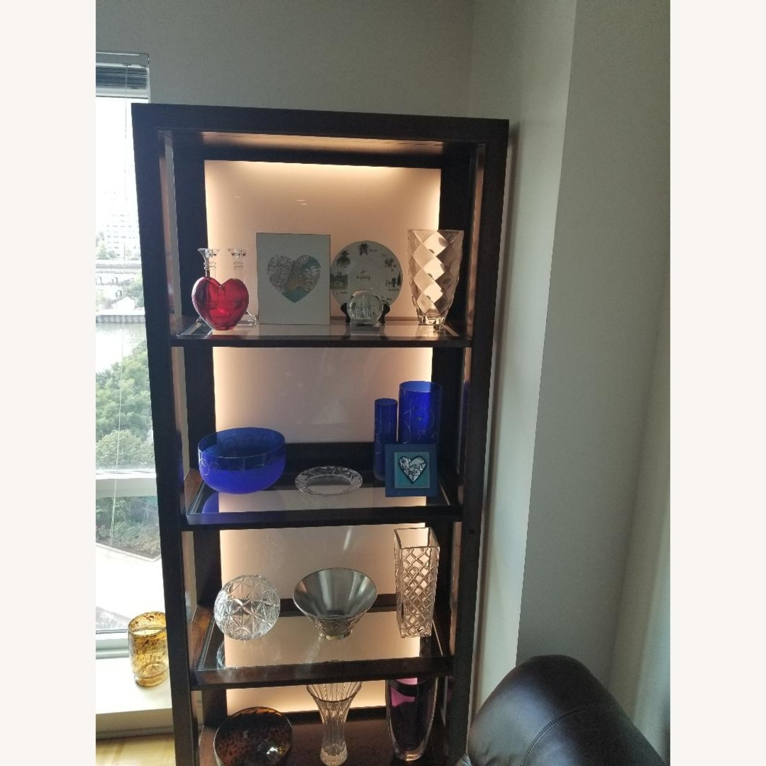 Lighted Curio Cabinet - image-1