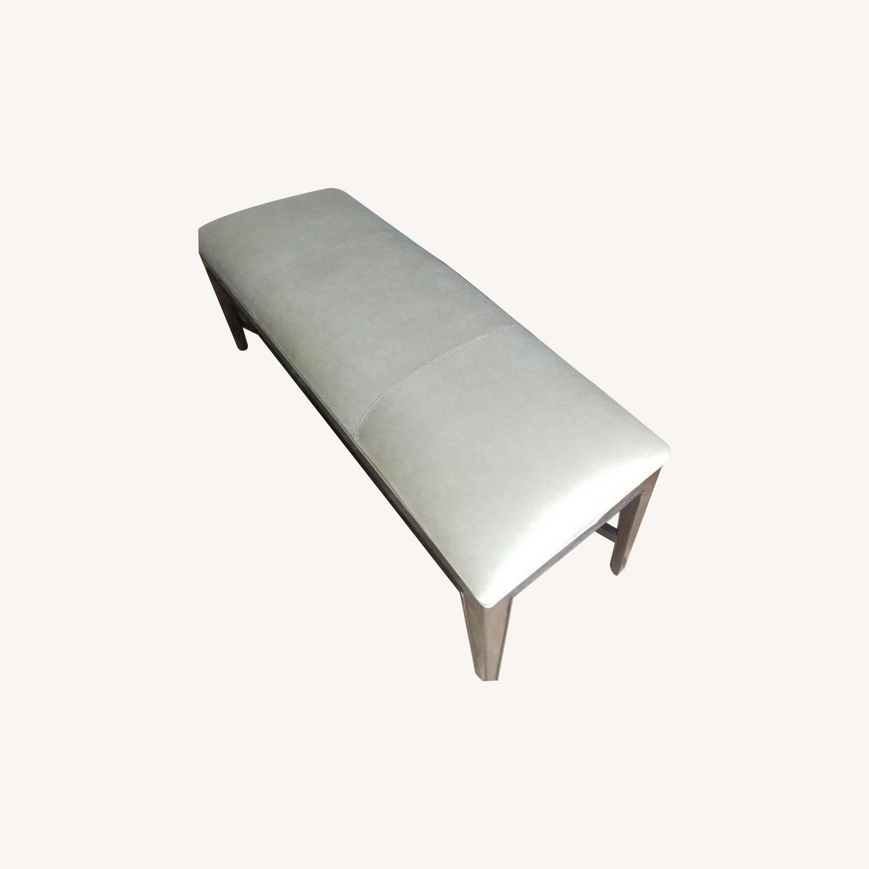 Thomasville Furniture Industries Beige Accent Bench - image-0