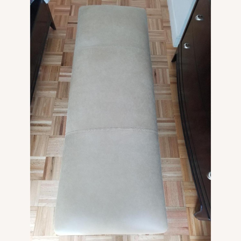 Thomasville Furniture Industries Beige Accent Bench - image-1