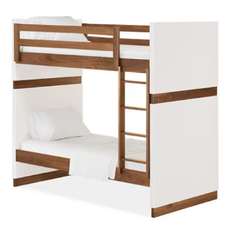 Room & Board Loft Bed with Desk and Side Shelves - image-6