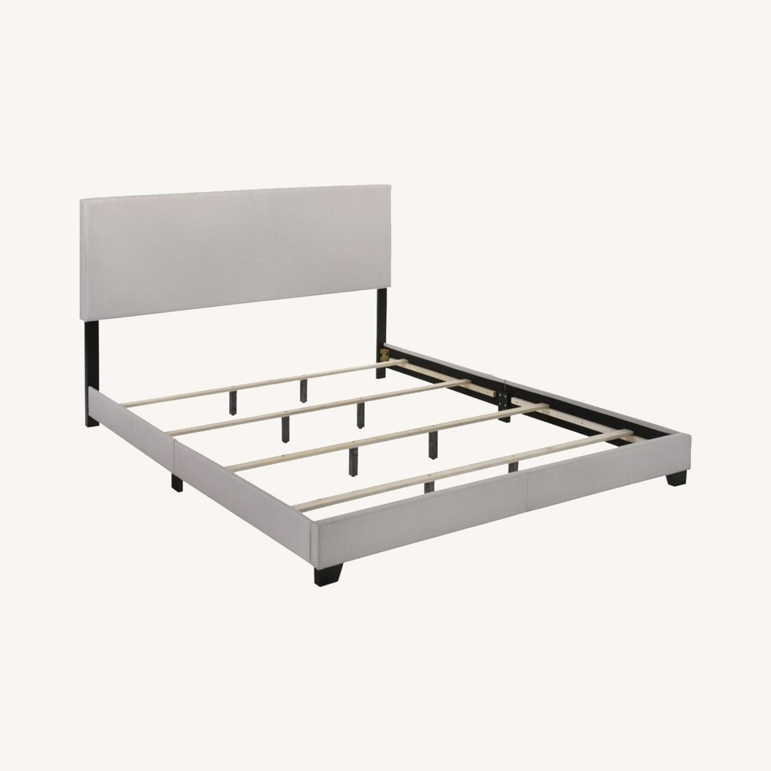 Zipcode Design Upholstered Low Profile Full Bed Frame - image-0
