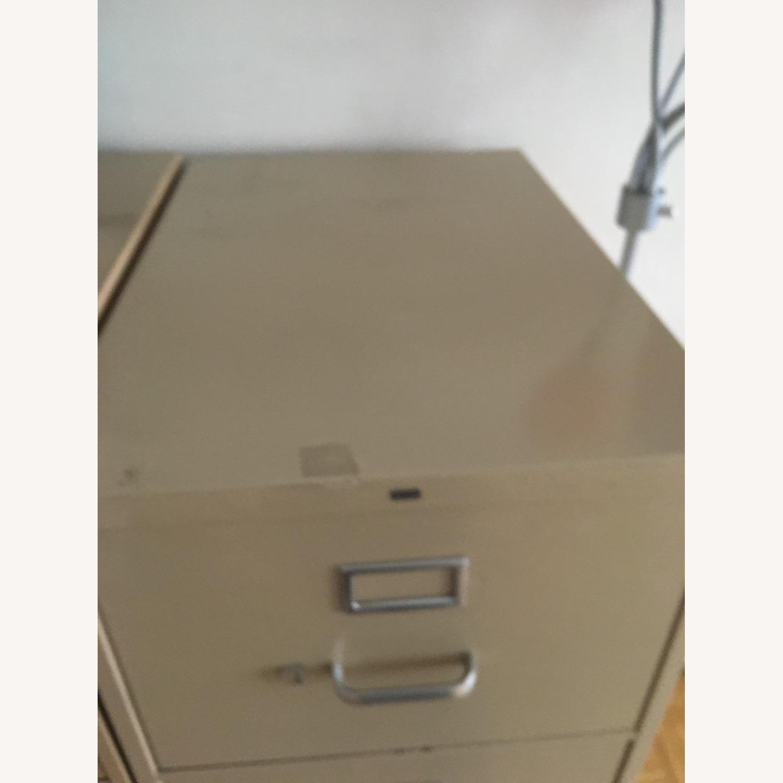 HON Office Furniture Vintage Vertical File Cabinet - image-3