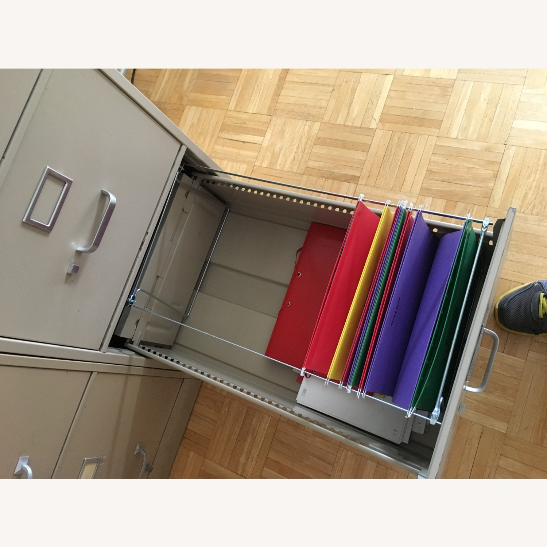 HON Office Furniture Vintage Vertical File Cabinet - image-5