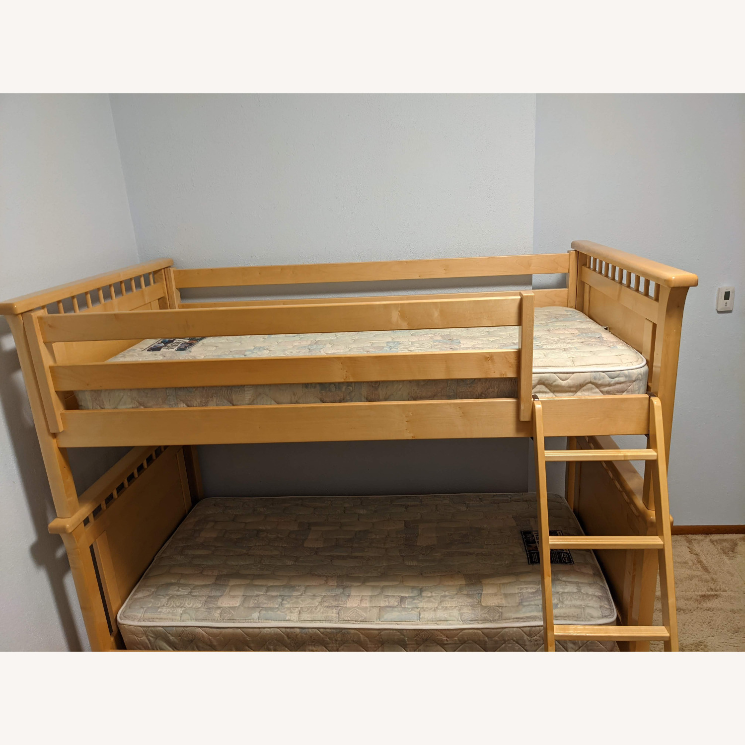 Solid Wood Bunk Beds w/ Under Bed Storage Drawers - image-5