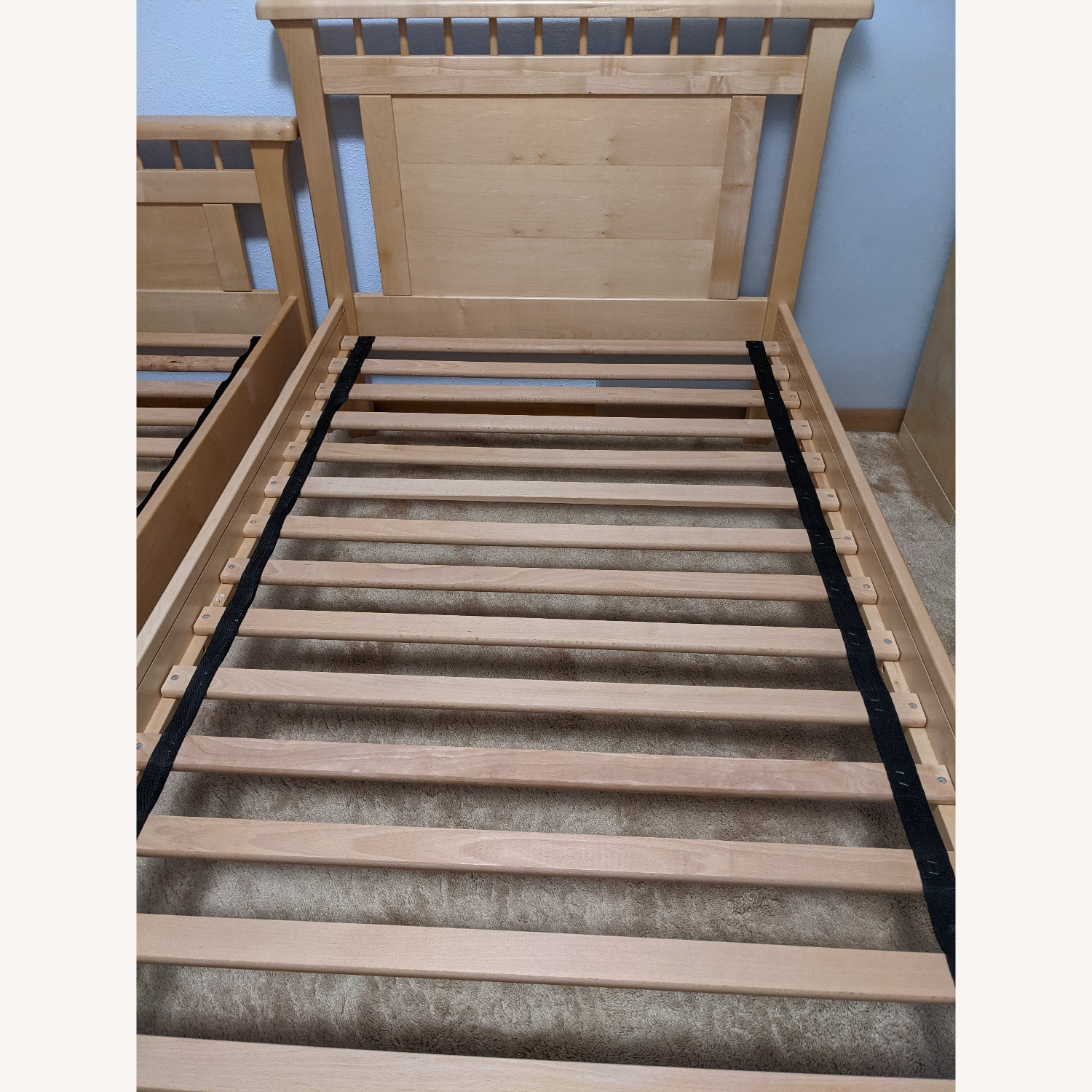 Solid Wood Bunk Beds w/ Under Bed Storage Drawers - image-8