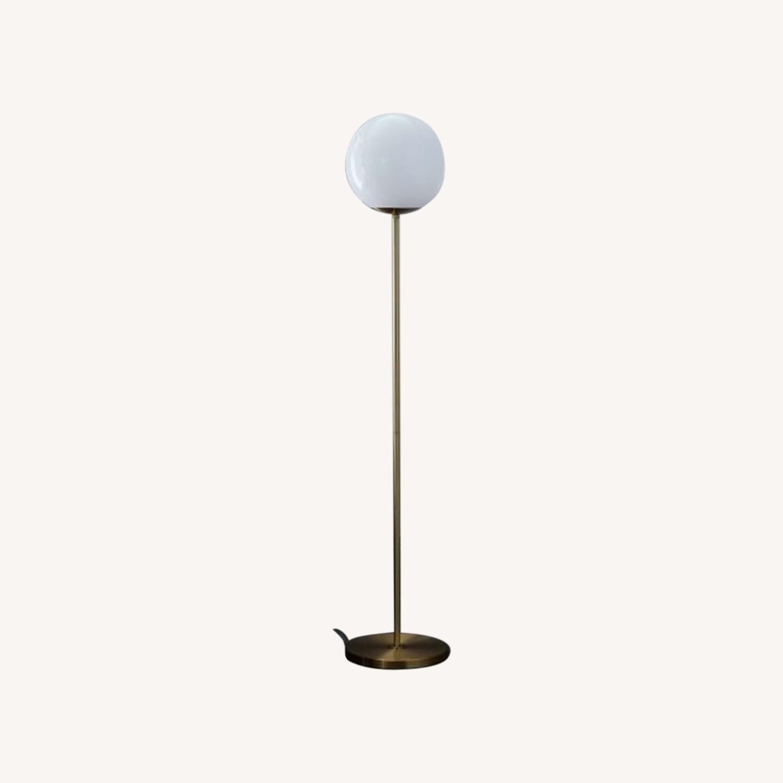 West Elm Globe Floor lamp - image-0