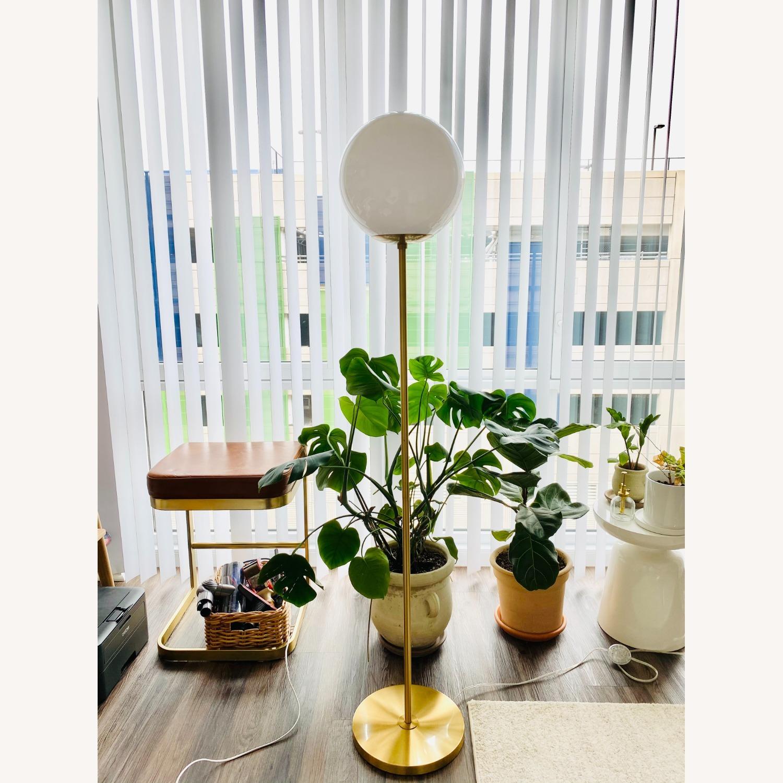 West Elm Globe Floor lamp - image-3