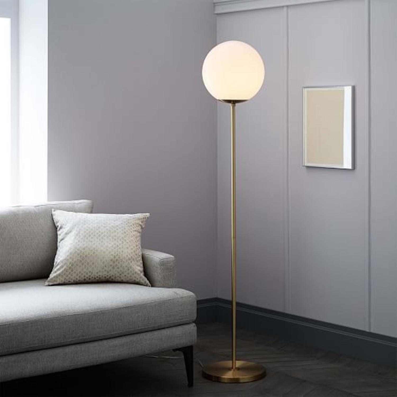 West Elm Globe Floor lamp - image-2