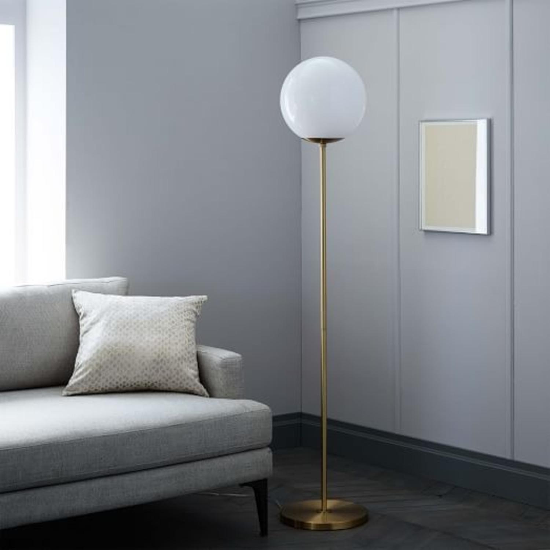 West Elm Globe Floor lamp - image-1