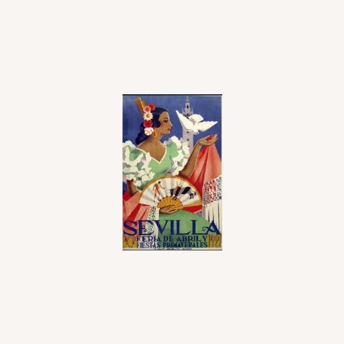 Used AllPosters Vintage Style Seville Poster for sale on AptDeco