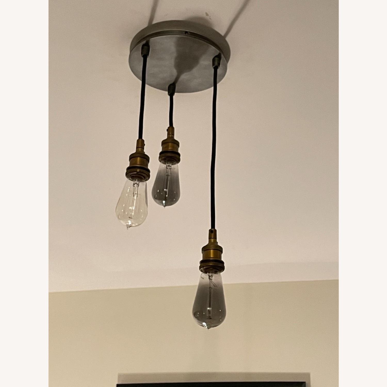 Restoration Hardware 3 Cord Edison Bulb Pendant - image-4