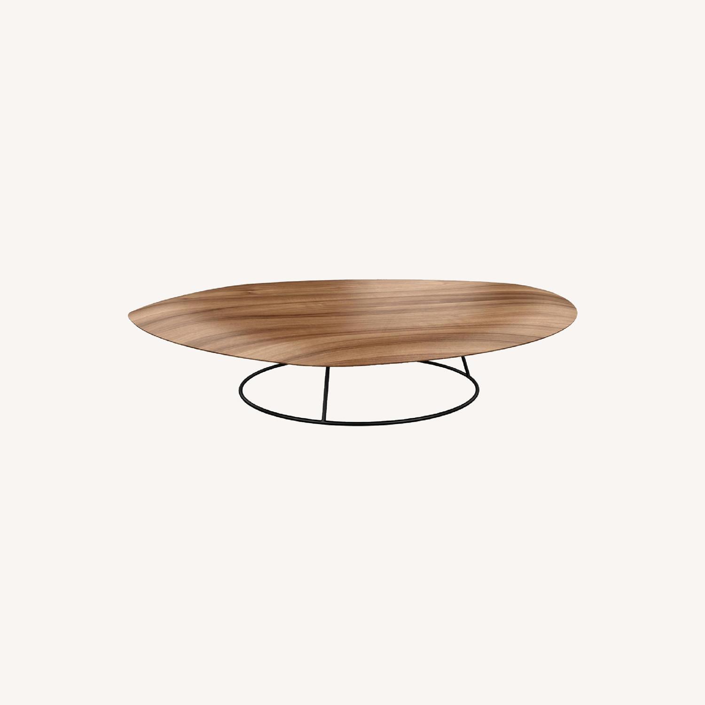 Ligne Roset Large Concave Pebble Table - image-0
