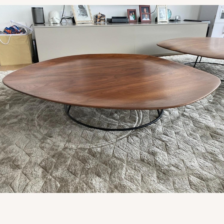 Ligne Roset Large Concave Pebble Table - image-1