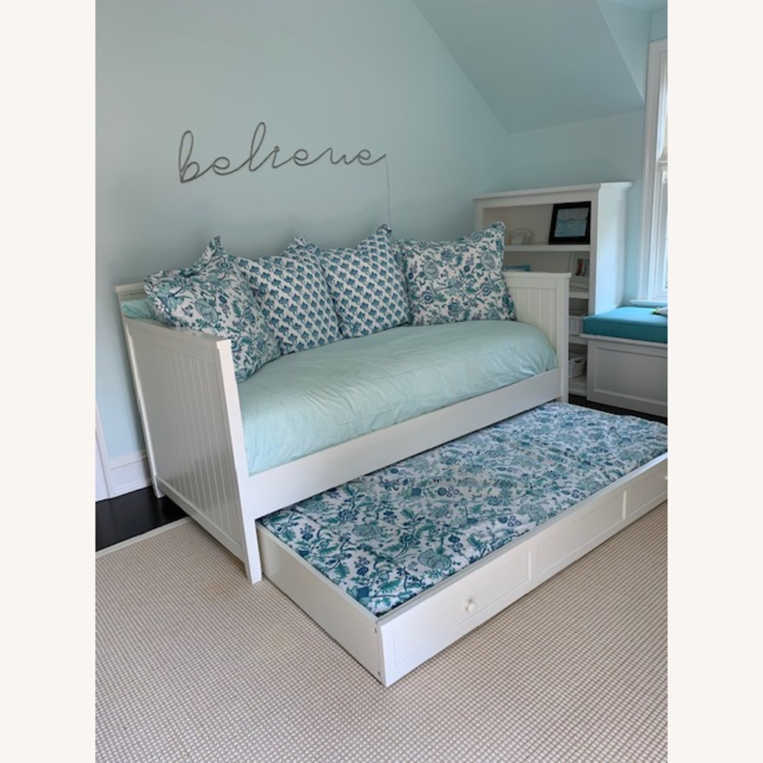 Pottery Barn Teen Daybed & Trundle - image-1