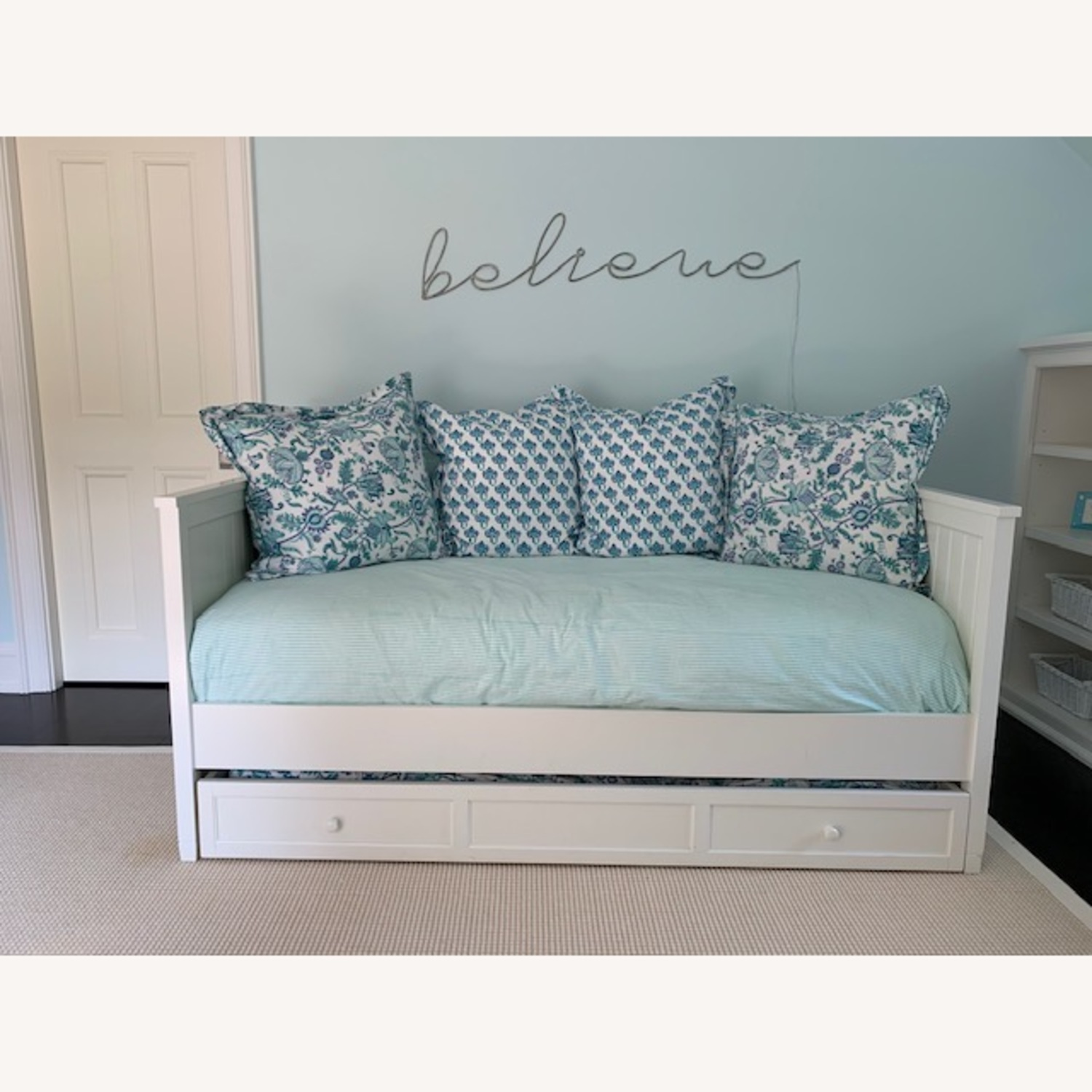Pottery Barn Teen Daybed & Trundle - image-2