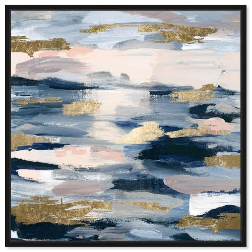 Used Oliver Gal Smoke on the Water Canvas Print for sale on AptDeco