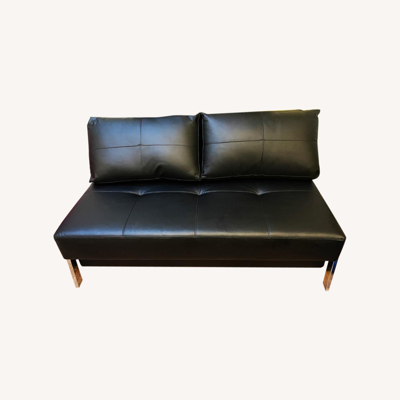 Innovation Living Leather Futon - image-0