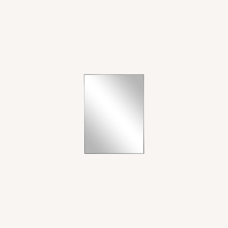 One Kings Lane Exton Wall Mirror, Black 20 x 30 - image-0