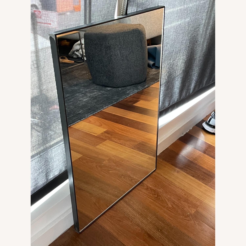 One Kings Lane Exton Wall Mirror, Black 20 x 30 - image-5
