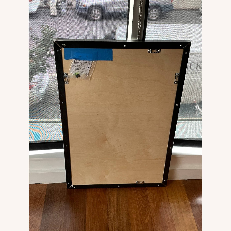 One Kings Lane Exton Wall Mirror, Black 20 x 30 - image-7