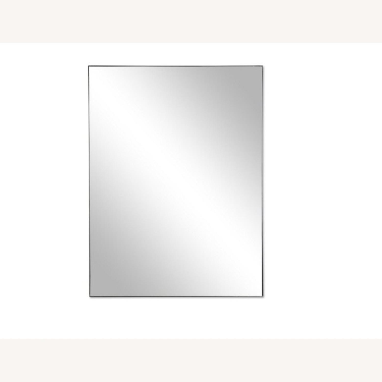 One Kings Lane Exton Wall Mirror, Black 20 x 30 - image-9