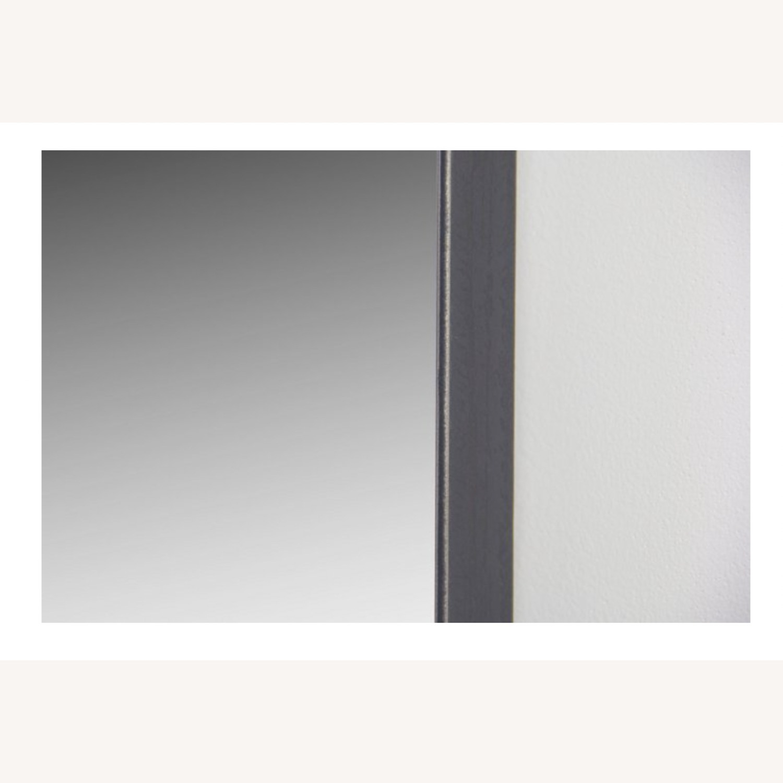 One Kings Lane Exton Wall Mirror, Black 20 x 30 - image-10