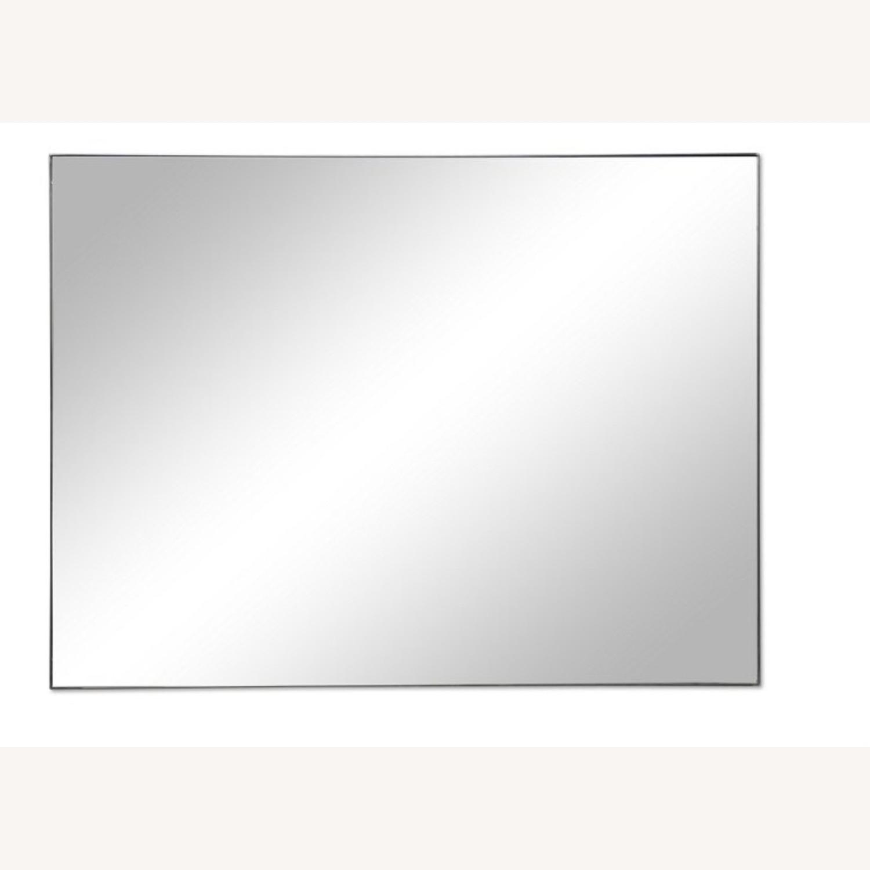 One Kings Lane Exton Wall Mirror, Black 20 x 30 - image-11
