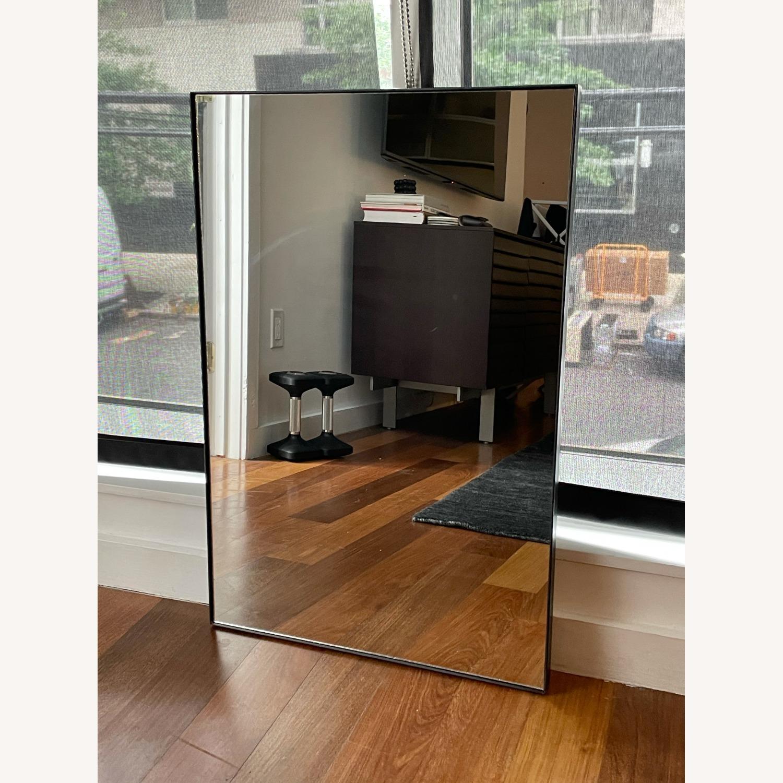 One Kings Lane Exton Wall Mirror, Black 20 x 30 - image-2