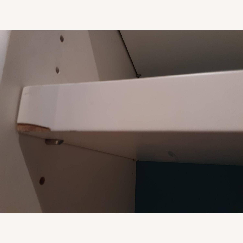 Custom Made White Entertainment/Storage Wall Unit - image-3