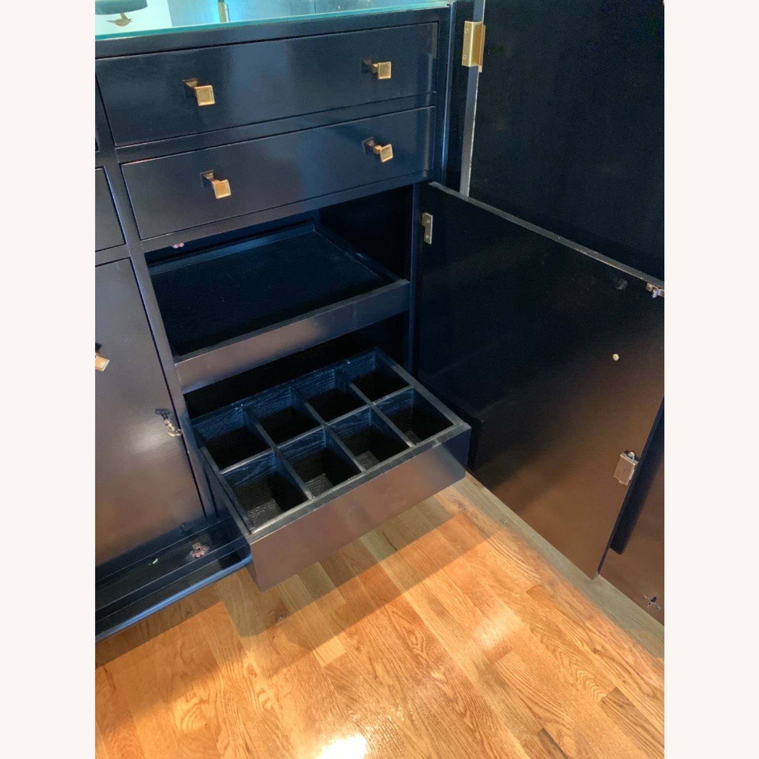 Hickory Chair Company Bar Cabinet - image-5