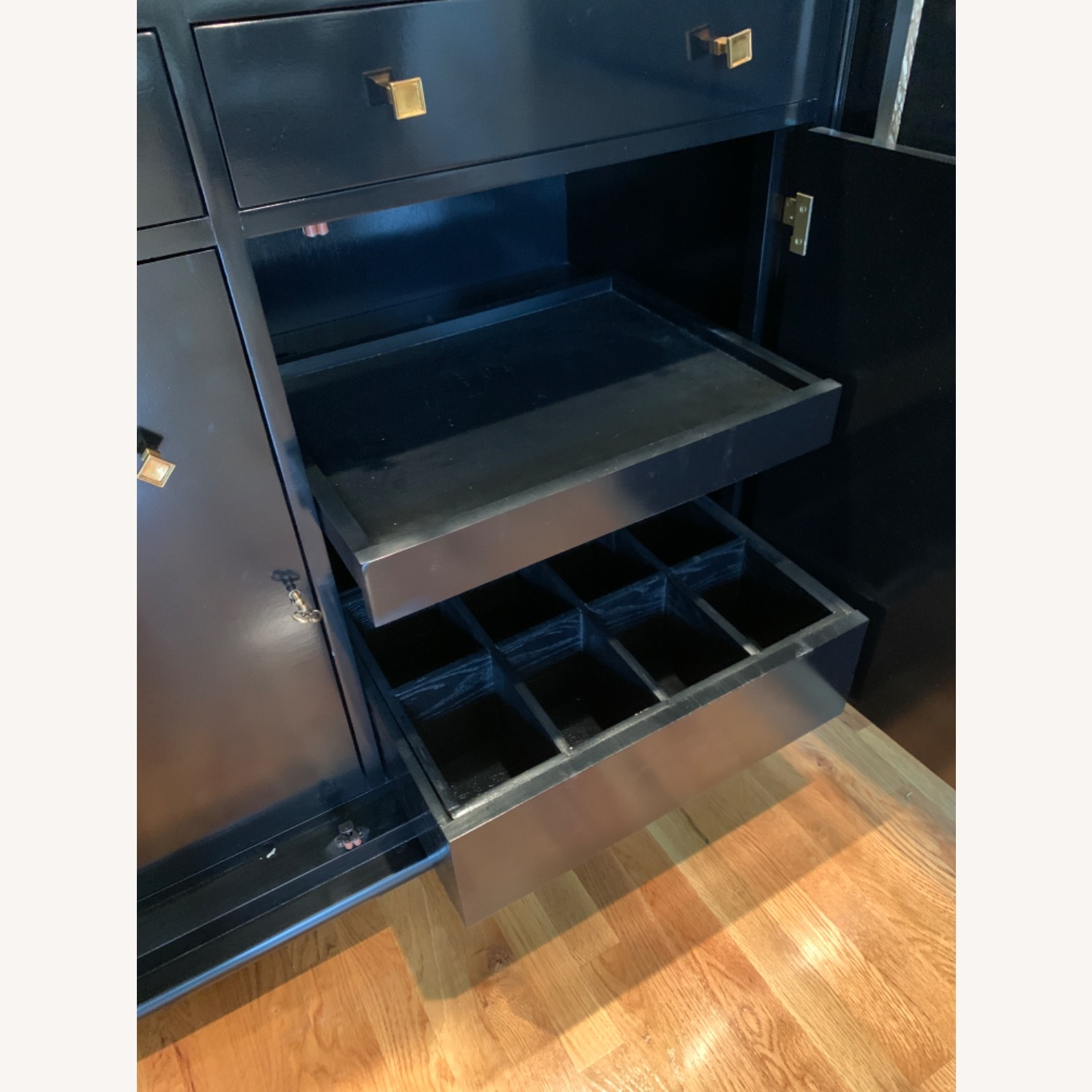 Hickory Chair Company Bar Cabinet - image-6