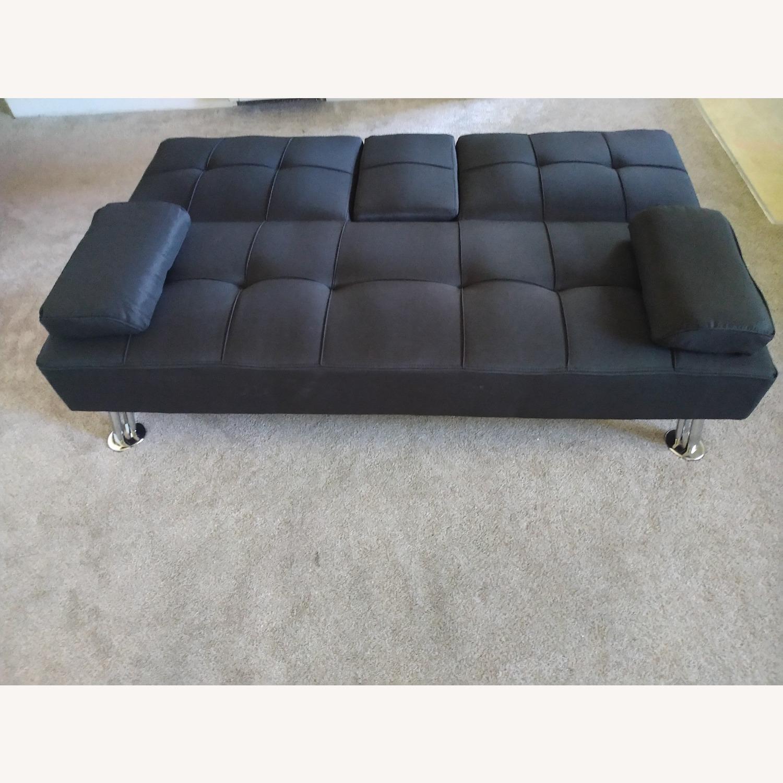 Best Home Furnishings Black Futon Sofa Bed - image-3