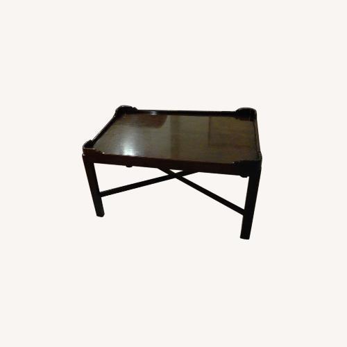 Used Hickory Chair, Mahogany Coffee Table for sale on AptDeco