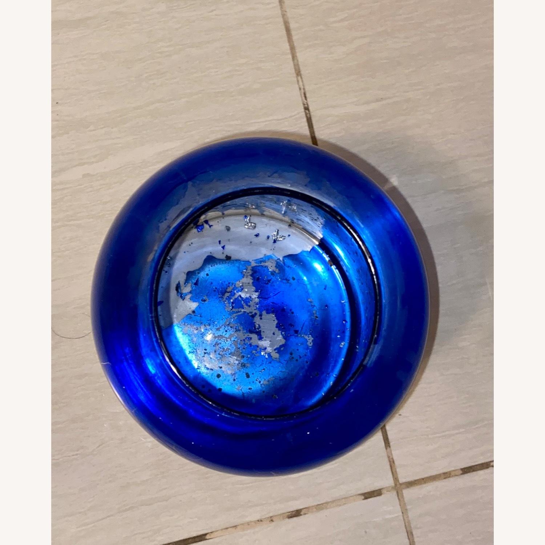Blue / Silver Vase - image-3