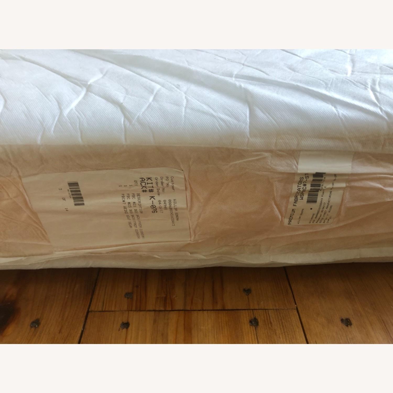 Pottery Barn Comfort Sofa slipcovered Wedge - image-24